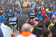 A busy scene during the British Touring Car Championship (BTCC) at  Brands Hatch, Fawkham, United Kingdom on 7 April 2019.