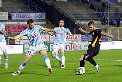 """Foto Filippo Rubin<br /> 04/04/2017 Ferrara (Italia)<br /> Sport Calcio<br /> Spal vs Novara - Campionato di calcio Serie B ConTe.it 2016/2017 - Stadio """"Paolo Mazza""""<br /> Nella foto: ANDREA ORLANDI<br /> <br /> Photo Filippo Rubin<br /> Apirl 04, 2017 Ferrara (Italy)<br /> Sport Soccer<br /> Spal vs Novara - Italian Football Championship League B ConTe.it 2016/2017 - """"Paolo Mazza"""" Stadium <br /> In the pic: ANDREA ORLANDI"""