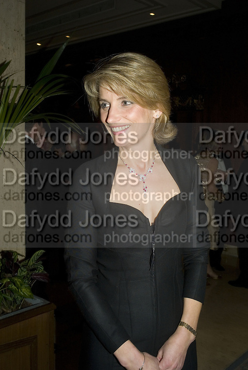 LADY CAROLYN WARREN, The 2007 Cartier Racing Awards. Four Seasonss Hotel. London. 14 November 2007. -DO NOT ARCHIVE-© Copyright Photograph by Dafydd Jones. 248 Clapham Rd. London SW9 0PZ. Tel 0207 820 0771. www.dafjones.com.