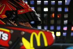 March 10, 2018 - Avondale, Arizona, United States of America - March 10, 2018 - Avondale, Arizona, USA: Jamie McMurray (1) straps into his car to practice for the Ticket Guardian 500(k) at ISM Raceway in Avondale, Arizona. (Credit Image: © Chris Owens Asp Inc/ASP via ZUMA Wire)