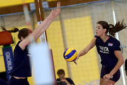30-09-2014 ITA: World Championship Volleyball Training Nederland, Verona<br /> Robin de Kruijf
