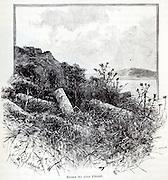Historic illustration of the Sea of Galilee
