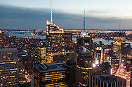 New York. Elevated view of Times square area . Midtown buildings. panoramic view of Manhattan cityscape.  Manhattan - United states / times square e midtown. panorama de la ville. Manhatan, New York - Etats unis v