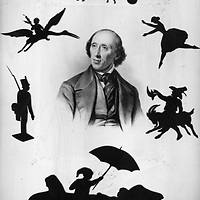 Hans Christian Andersen Paper cutting <br /> Picture by Unknown/Scanpix/Writer Pictures<br /> <br /> WORLD RIGHTS - DIRECT SALES ONLY - NO AGENCY