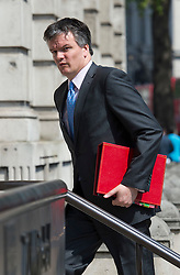 © London News Pictures. 22/05/2011. London, UK.  Secretary of State for Scotland Michael Moore arriving at the cabinet office on Whitehall on May 22, 2012 for a cabinet meeting. Photo credit: Ben Cawthra/LNP