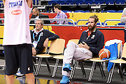DESCRIZIONE: Berlino EuroBasket 2015 - Allenamento<br /> GIOCATORE:Luigi Datome<br /> CATEGORIA: Allenamento<br /> SQUADRA: Italia Italy<br /> EVENTO:  EuroBasket 2015 <br /> GARA: Berlino EuroBasket 2015 - Allenamento<br /> DATA: 08-09-2015<br /> SPORT: Pallacanestro<br /> AUTORE: Agenzia Ciamillo-Castoria/I.Mancini<br /> GALLERIA: FIP Nazionali 2015<br /> FOTONOTIZIA: Berlino EuroBasket 2015 - Allenamento