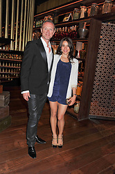 GARY & LAUREN KEMP at a dinner to celebrate the beginning of a unique partnership between The Naked Heart Foundation and W's Newest Hotel W St.Petersburg -The 'For Russia With Love' dinner was hosted by Sadie Frost and Natalia Vodianova at Spice Market restaurant, W London, Leicester Square, London on 2nd June 2011.