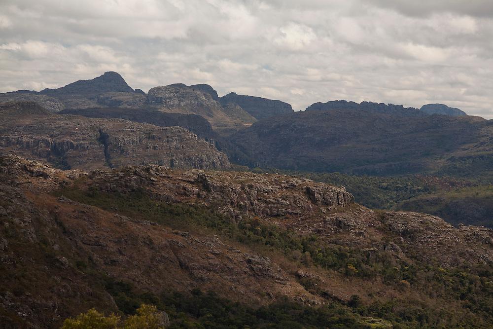 Diamantina_MG, Brasil...Paisagem com montanhas em Diamantina, Minas Gerais...Landscape in Diamantina, Minas Gerais...Foto: LEO DRUMOND / NITRO