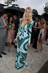 POPPY DELEVINGNE at the annual Serpentine Gallery Summer Party sponsored by Burberry held at the Serpentine Gallery, Kensington Gardens, London on 28th June 2011.