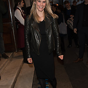 Kim Tardy Arriver at the Quiz press night at Noel Coward Theatre, London, UK