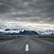 You'd be forgiven for thinking that the road system in Iceland is essentially a ringroad the size of Britain. The roads seem to stretch, unbending for mile upon mile, while the dramatic scenery builds up on either side.