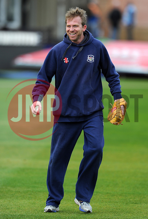 Gloucestershire's Coach Richard Dawson - Photo mandatory by-line: Harry Trump/JMP - Mobile: 07966 386802 - 30/03/15 - SPORT - CRICKET - Pre Season Fixture - T20 - Somerset v Gloucestershire - The County Ground, Somerset, England.