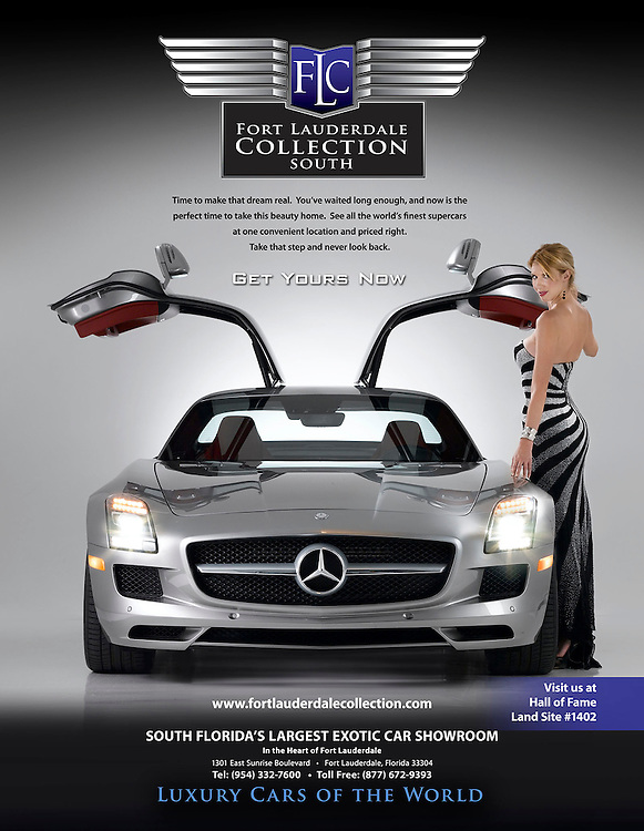 Fort Lauderdale Collection silver Mercedes