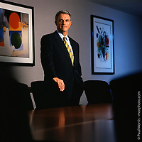 CEO portrait of Ryder Systems executive.