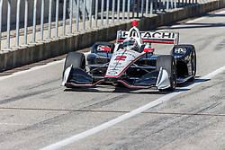 February 12, 2019 - U.S. - AUSTIN, TX - FEBRUARY 12: Josef Newgarden (2) in a Chevrolet powered Dallara IR-12 leaves the pits during the IndyCar Spring Training held February 11-13, 2019 at Circuit of the Americas in Austin, TX. (Photo by Allan Hamilton/Icon Sportswire) (Credit Image: © Allan Hamilton/Icon SMI via ZUMA Press)