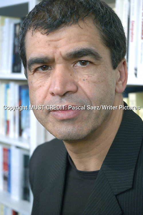 French writer Daniel Picouly at the Salon du Livre (Book Fair) in Paris, March 2006<br /> <br /> Copyright Pascal Saez<br /> Pascal Saez / Writer Pictures
