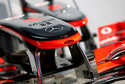 Motorsports / Formula 1: World Championship 2010, GP of Italy, technical detail, Vodafone McLaren Mercedes
