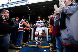 Steven Luatua of Bristol Bears leads the team out at Leicester Tigers - Mandatory by-line: Robbie Stephenson/JMP - 04/01/2020 - RUGBY - Welford Road - Leicester, England - Leicester Tigers v Bristol Bears - Gallagher Premiership Rugby