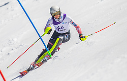 44# Kolega Samuel from Croatia during the slalom of National Championship of Slovenia 2019, on March 24, 2019, on Krvavec, Slovenia. Photo by Urban Meglic / Sportida