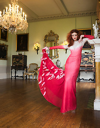 Eve of the ball. Abi, La Moda Models, Prestwold Hall, Leicestershire. Gown: Beyond Burlesque Jewels: Jacq Brill at Beloved Vintage Bridal MUAH: Lucy. Shot featured in Brides Magazine