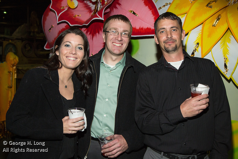 SunPro 2014 Christmas party at Mardi Gras World