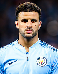 Kyle Walker of Manchester City - Mandatory by-line: Robbie Stephenson/JMP - 19/09/2018 - FOOTBALL - Etihad Stadium - Manchester, England - Manchester City v Lyon - UEFA Champions League Group F