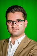 ROTTERDAM - portret van Stephan van Baarle de nummer 5 van denk DENK Tunahan Kuzuen Selçuk Öztürk  portret ROBIN UTRECHT
