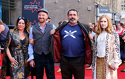Edinburgh International Film Festival 2019<br /> <br /> Mrs Lowry And Son (World Premiere, closing night gala)<br /> <br /> Pictured: Michele Grey, Richard Grey, Angus MacFadyen and guest<br /> <br /> Aimee Todd | Edinburgh Elite media