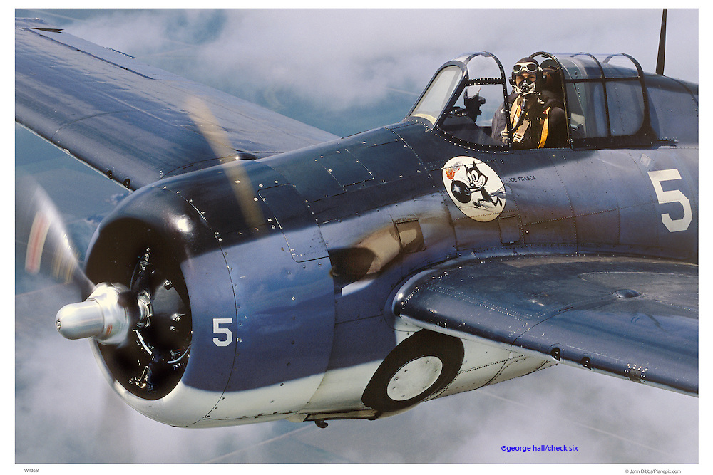 F-4 Wildcat, aerial close up