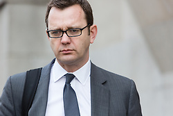 © Licensed to London News Pictures. 17/03/2014. London, UK. Andy Coulson arrives at The Old Bailey in London this morning, 17th March 2014 for the Phone Hacking Trial. Photo credit : Vickie Flores/LNP
