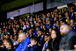 Bristol Rovers fans watch the game - Mandatory by-line: Ryan Hiscott/JMP - 14/08/2018 - FOOTBALL - Memorial Stadium - Bristol, England - Bristol Rovers v Crawley Town - Carabao Cup