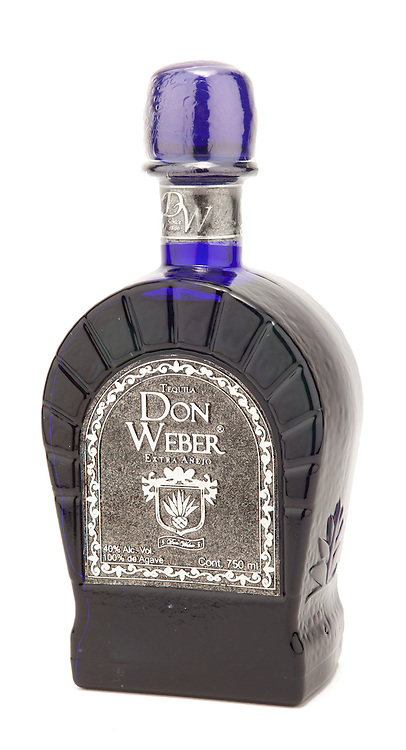 Tequila Don Weber Extra Añejo -- Image originally appeared in the Tequila Matchmaker: http://tequilamatchmaker.com