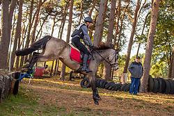 Sterkens Cel, BEL, Nuage De Lait<br /> LRV Ponie cross - Zoersel 2018<br /> © Hippo Foto - Dirk Caremans<br /> 28/10/2018