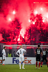 December 7, 2017 - Skopje, MACEDONIA - 171207 Birger Meling of Rosenborg during the Europa League match between FK Vardar and Rosenborg on December 7, 2017 in Skopje..Photo: Jon Olav Nesvold / BILDBYRN / kod JE / 160096 (Credit Image: © Jon Olav Nesvold/Bildbyran via ZUMA Wire)