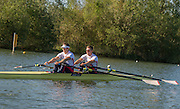 Caversham, United Kingdom,  GBR M2X, left Jonny WALTON and John COLLINS.  GBR Rowing, European Championships, team announcement, of crews competing in Belgrade, in May. Venue, GBR rowing training base, near Reading,<br /> 08:33:23  14/05/2014   14/05/2014  <br /> [Mandatory Credit: Peter Spurrier/Intersport<br /> Images]