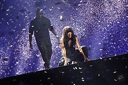Bildnummer: 58036775  Datum: 26.05.2012  Copyright: imago/Xinhua.(120527) -- BAKU, May 27, 2012 (Xinhua) -- Loreen (Front) of Sweden, the winner of the Eurovision 2012, performs at the Grand Final of the Eurovision song contest in Baku, May 27, 2012. (Xinhua) (dtf) AZERBAIJAN-MUSIC-EUROVISION PUBLICATIONxNOTxINxCHN Entertainment Kultur People Musik Eurovision Song Contest Songcontest ESC Grand Prix xdp x0x premiumd 2012 quer .. 58036775 Date 26 05 2012 Copyright Imago XINHUA  Baku May 27 2012 XINHUA Loreen Front of Sweden The Winner of The Eurovision 2012 performs AT The Grand Final of The Eurovision Song Contest in Baku May 27 2012 XINHUA  Azerbaijan Music Eurovision PUBLICATIONxNOTxINxCHN Entertainment Culture Celebrities Music Eurovision Song Contest Song Contest Esc Grand Prix XDP x0x premiumd 2012 horizontal  Loreen of Sweden celebrates Winning The Eurovision 2012 at The Grand Final of The Eurovision Song Contest in Baku, Azerbaijan, Saturday May 27 2012. Photo By imago/i-ImagesLoreen of Sweden Performs at the Eurovision 2012 at The Grand Final after Winning The Eurovision 2012 Contest in Baku, Azerbaijan, Saturday May 27 2012. Photo By imago/i-Images