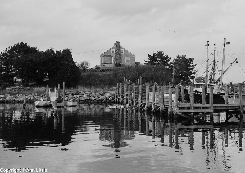 """""""Hilltop"""" photograph from Ann Little's ebook, """"Galilee, Rhode Island."""""""