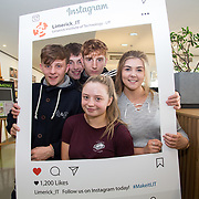 05.09. 2017.                             <br /> Limerick Institute of Technology welcomed its first year students onto Campus today 5th Sept 2017. <br /> Pictured were first year students, Jordan Hayes, Ivan O'Dwyer, Dylan O'Connor, Chloe Coleman and Saoirse Corbett. Picture: Alan Place