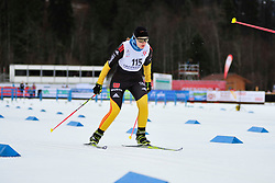HOSCH Vivian Guide: SCHLEE Norman, GER at the 2014 IPC Nordic Skiing World Cup Finals - Sprint