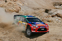 MOTORSPORT - WRC 2011 - JORDAN RALLY - 14 TO 16/04/2011 - DEAD SEA (JOR) - PHOTO : BASTIEN BAUDIN / DPPI - <br /> 05 HENNING SOLBERG (NOR) / ILKA MINOR (AUT) - FORD FIESTA RS WRC - M-SPORT STOBART FORD WORLD RALLY TEAM - ACTION