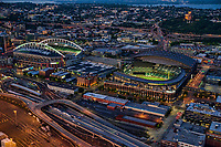 CenturyLink & Safeco Fields (Home of the Seahawks & Mariners, resp.)