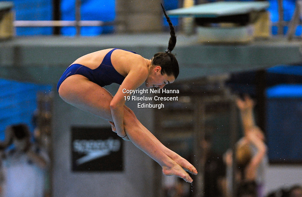 Scottish National Diving Championships & Thistle Trophy 2015<br /> <br /> Free to use <br /> <br /> Royal Commonwealth Pool, Edinburgh<br /> Women's 1M Final<br /> <br /> Clare Cryan of City of Sheffield won the Senior Open during todays competition.<br /> <br />  Neil Hanna Photography<br /> www.neilhannaphotography.co.uk<br /> 07702 246823