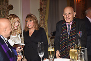 FARID KARIM; BASIA BRIGGS; EVE POLLARD, NAIM ATTALLAH,, Launch of book by Basia Briggs, Mother Anguish. The Ritz hotel, Piccadilly. 4 December 2017
