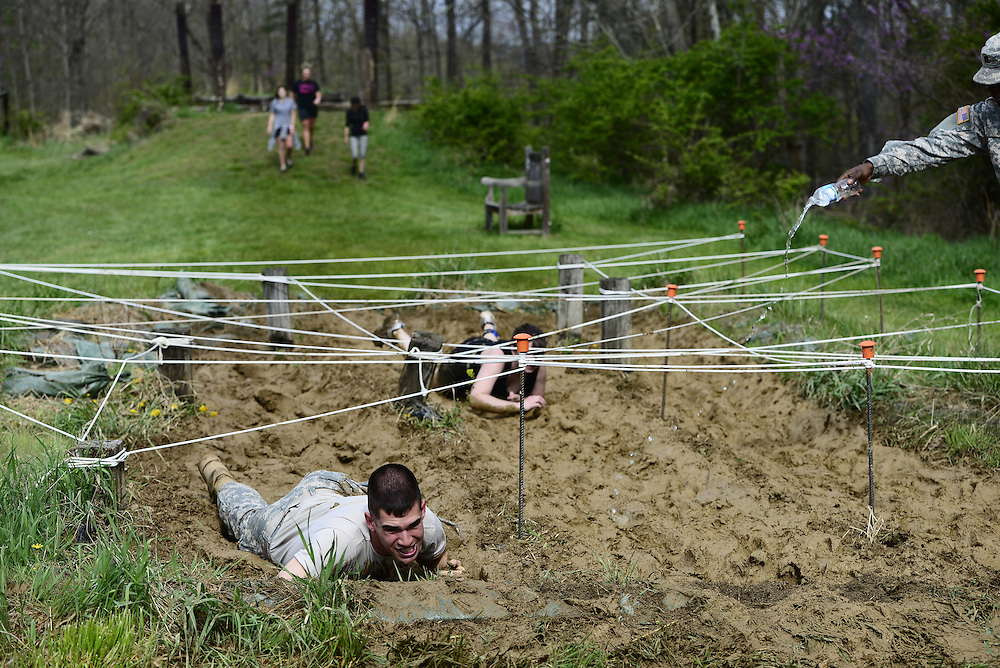 The Mud Run is one of the races in Ohio Health O'Bleness Hospital Race for a Reason which took place on Saturday morning, April 26, 2014. Photo by Olivia Wallace