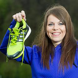 Klavdija Babnik, coach of Adidas Summer running school, on April 17, 2015 in Ljubljana, Slovenia. Photo by Vid Ponikvar / Sportida
