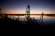 Sao Romao_MG, Brasil...Rio Sao Francisco, o rio da integracao nacional. Na foto, pesca do rio...The Sao Francisco river, It is an important river for Brazil, called the river of national integration. In this photo, the fishing in the river...Foto: LEO DRUMOND / NITRO