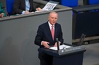 DEU, Deutschland, Germany, Berlin, 15.03.2018: Bernd Westphal (SPD) bei einer Rede im Deutschen Bundestag.