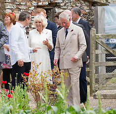JUL 15 2014 Royal visit to River Cottage HQ
