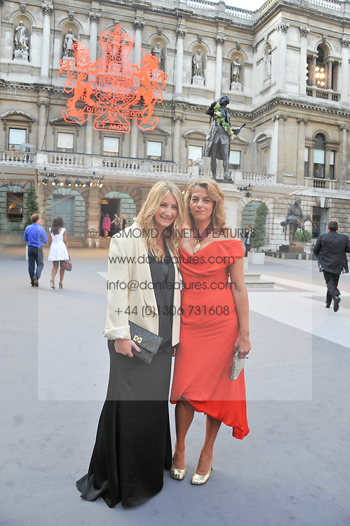 Left to right, ANYA HINDMARCH and TRACEY EMIN at the Royal Academy of Arts Summer Exhibition Preview Party at Burlington House, Piccadilly, London on 2nd June 2011.