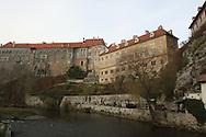 CESKY KRUMLOV CASTLE CZECH REPUBLIC